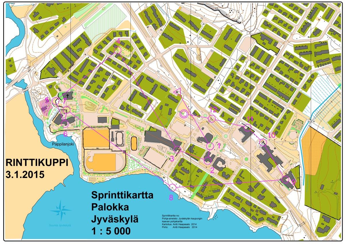 Suunta Jyvaskyla Sprintticup 2015